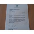 Mrs Wood's letter