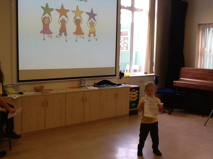 Staff award winner for bravery!