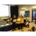 Class award winners.