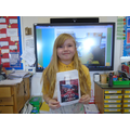 Bethany has created her own Japanese club book!