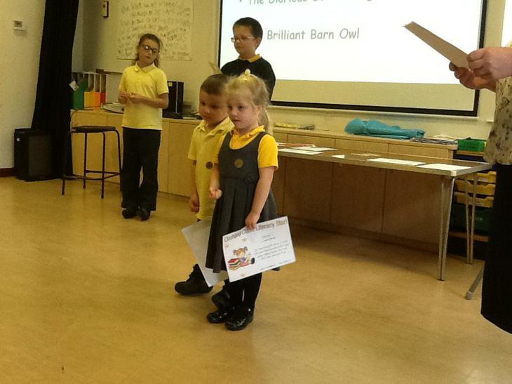 Literacy award.
