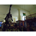 A big dinosaur met us at the entrance!