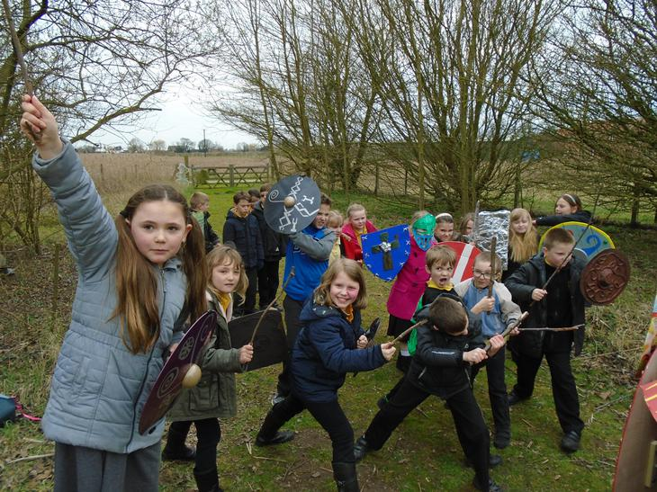 Boudicca rallies her troops!