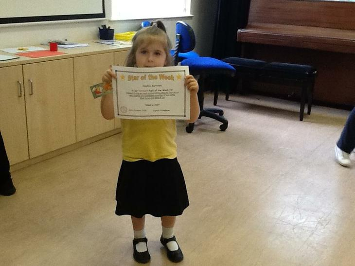 Star of the week.