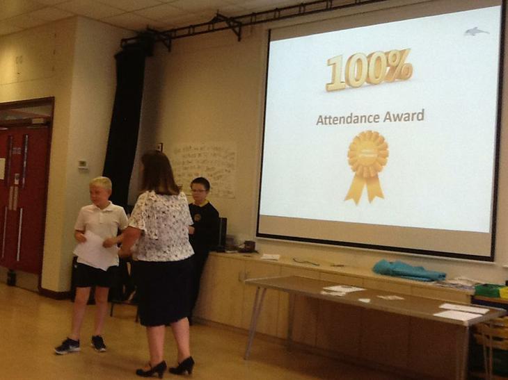 Golden Eagles win this week's attendance award!