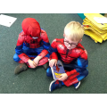 Our Spidermen shared a story together.