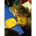 We sieved, cracked, mixed and flipped our pancakes