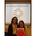 Pupil act of kindness