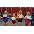 Well done girls on your certificates.