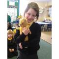 Mummy's teddy bear.