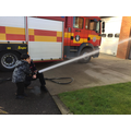 We even got to have a go with one of the hoses.