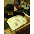 We have non-fiction books in our role-play areas.