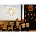 """Staff award"" to pupils"