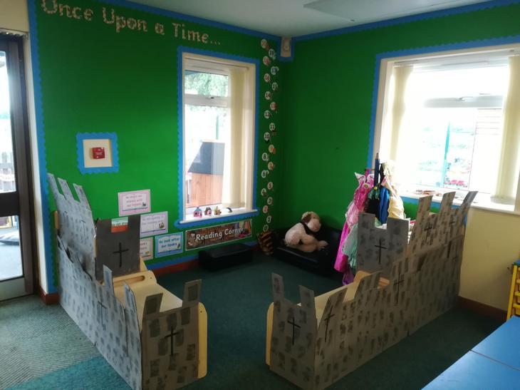 Fairytale Castle Reading Area