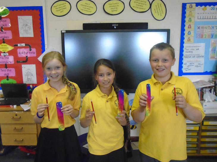 We've earned a pencil too - 25 points or more!