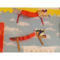 Dancing dragon craft