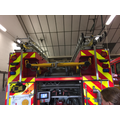 There were five ladders on the fire engine.