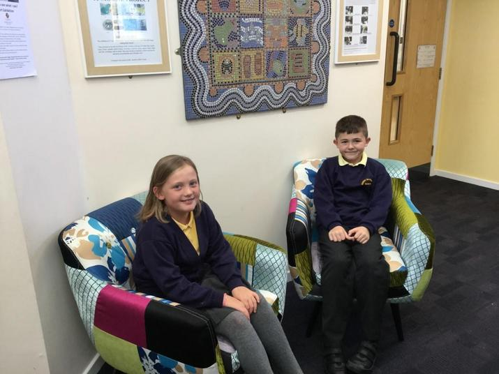 Year 4 - Lillie Taylor and Harry Ryland-Brookes