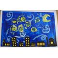 Jonah's Van Gogh inspired artwork.JPG
