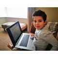 Karam (Hedgehogs) working on his new laptop.jpg