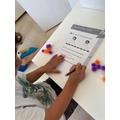 Adan working hard on his maths (Hedgehogs).jpeg