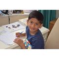 Ranvijay (Willows) doing his homelearning..JPG