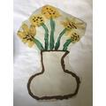 Felix Sunflowers inspired by Van Gogh .jpeg