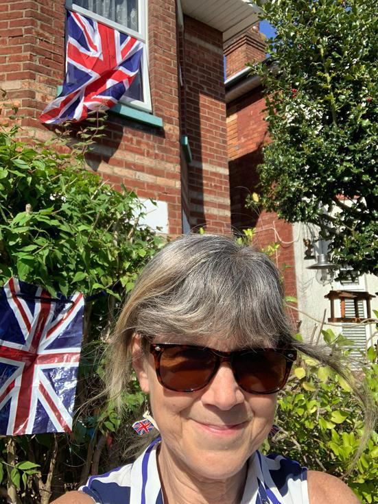 Mrs Griffiths celebrating VE day.jpg