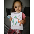 Amira (Robns) comparing sizes