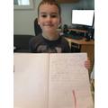 Reuben (Hedgehogs) sharing his writing.jpg