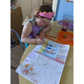 Lily ( Badgers) Story writing