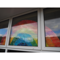 Our rainbow in the window