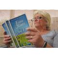 Mrs Warren looks like she can't stop reading.JPG