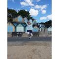 Nora (Willow) having fun at the beach huts..png