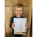Mason with his acrostic poem. (Willow).png