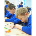 Max and Kyran showing great concentration