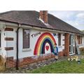 Brendan painted this beautiful rainbow (Hedgehogs).jpg