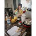 Zofia (Pine) doing some baking.jpg