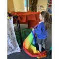 Making a den