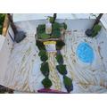 Karim (Pine) model garden