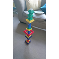 Jonah in Hedgehogs has made this tall tower.JPG