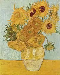 The Sunflowers by Vincent Van Gogh, 1888