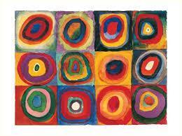 Colour Study by Wassily Kandinsky, 1913
