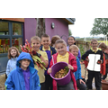 This week the children harvested all the crops planted by year 4.