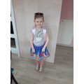 Chloe loves chosing clothes dressing up and accessorising.