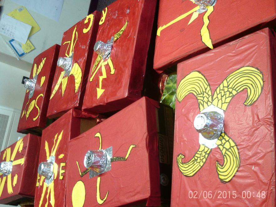 Year 4 Roman Shields
