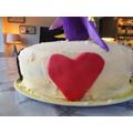 """I think cake represents kindness and celebration"""