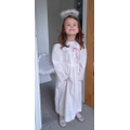 Tilly wanted to dress up in her Christmas angel outfit!