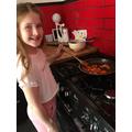 Jessica's Roman recipe - delicious!
