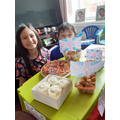 Kian's VE Day party-yum!